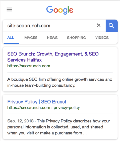 Site Colon Search Results SEO Brunch