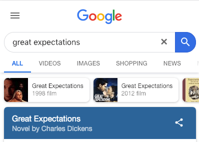 A Clients Great Expectations
