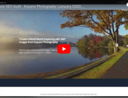 Kopano Photography 10-Minute Audit Details