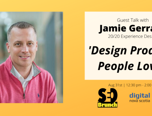 Protected: Design products people love! – Jamie Gerrard | Guest Talk | SEO Brunch (August 2020)