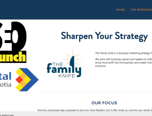 The Family Knife   10-Minute SEO Audit Details