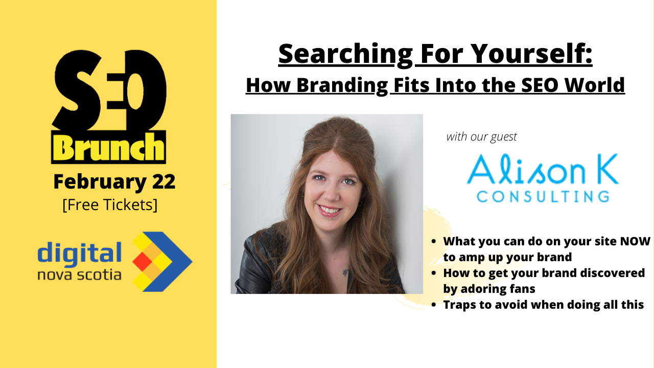 alison k consulting searching for yourself seo brunch promo poster