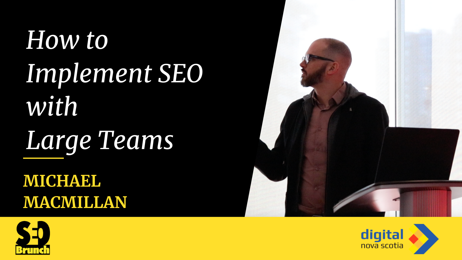 How to implement seo with large teams with michael macmillan